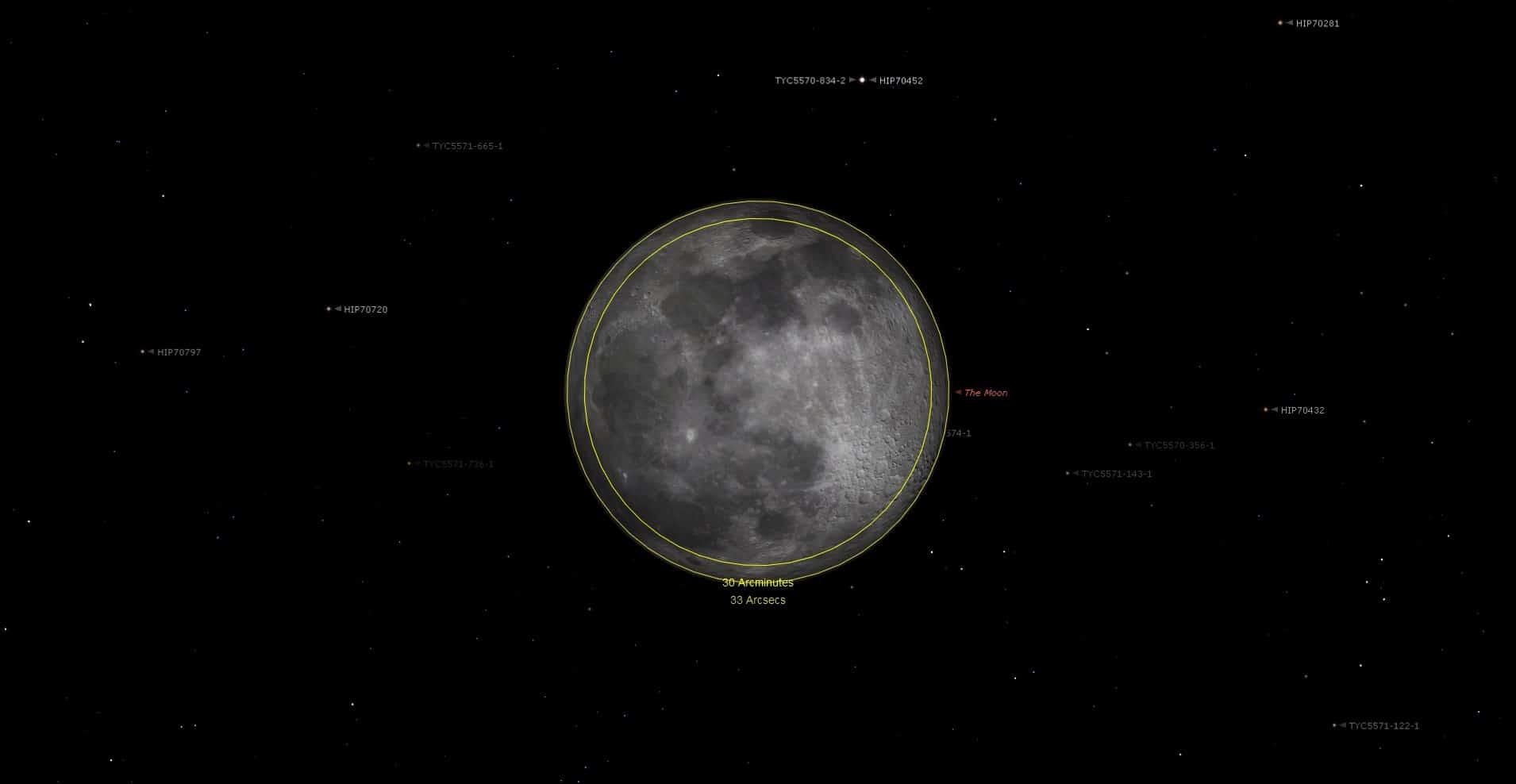 Superluna abril 2021